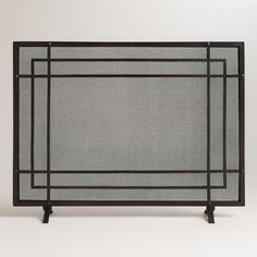 Birds Summer Decorative Fireplace Screen, $139.95, Plow & Hearth ...