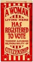 Suffragette Window Poster circa 1920 - I WILL get this as a tattoo. It's just a matter of gathering the money.