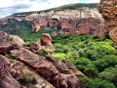 Parque Nacional Serra da Capivara, Piauí, Brazil.