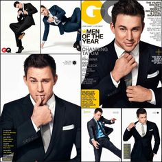Channing Tatum Covers GQ's December 2012 Men of the Year Issue