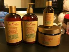 This Manuka Honey & Mafura Oil Line by Shea Moisture gives so much LIFE!! Shea Moisture can have all my monies.