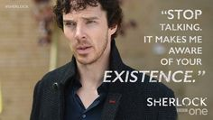 #Sherlock, the master of deep and meaningful conversation. S4E2 #TheLyingDetective
