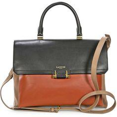 Lanvin Top Handle Crossbody Bag - Havana ( 1 1b3359cae6b7f