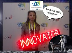Lets innovate together! #CES2015 #PixeSocial