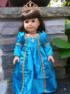 18 Inch American Girl doll lilac princess dress by ProjectFunway