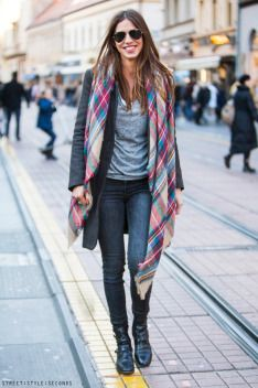 Best scarf styles for this cool #Dubai weather