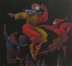 Clowns by Vasile Olac, via Behance One of my childhood heroes! He inspired me so much to start drawing at an early age! :)