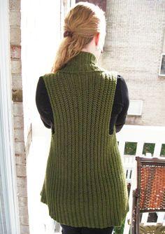 Belinda Vest  A Crochet Pattern