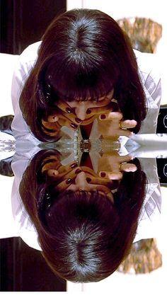 Mia Wallace,(Pulp Fiction).
