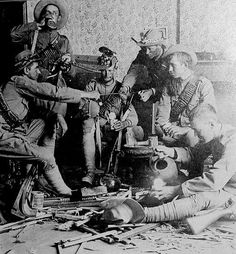 Bushveldt carabineers, a special force raised to deal with the Boer commandos during the second Boer War