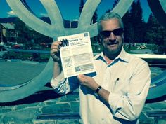 Pete Alexander carried his copy on a business trip to Whistler, BC Canada!