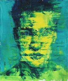 "Saatchi Art Artist: LIm Cheol hee; Oil 2013 Painting ""stranger (57)"""