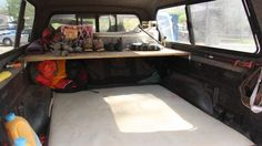 Steph Davis' truck set-up for truck camping. A must-do for US climbing trips!