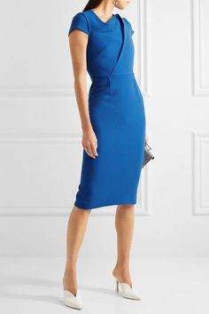 BSLLondon Loves ♥ this Burfield wool crepe dress by Roland Mouret