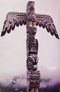 Northwest Native American Totem Poles | Family Totems - a gallery on Flickr