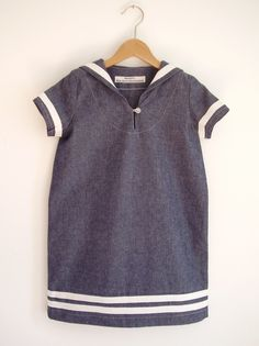 Sailor Dress | Berlinerkindermodern on Etsy
