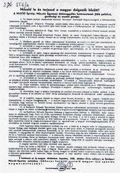 Az 1956-os forradalom 16 pontja – Wikipédia Word Search, Words, Horse