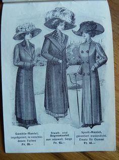 1911 - MODEKATALOG MAX WIRZ z. HANSAHOF in Egliswil kaufen bei ricardo.ch