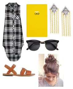 """Untitled #514"" by mgarrison41 ❤ liked on Polyvore featuring Rails, Smythson, Freida Rothman and A.P.C."
