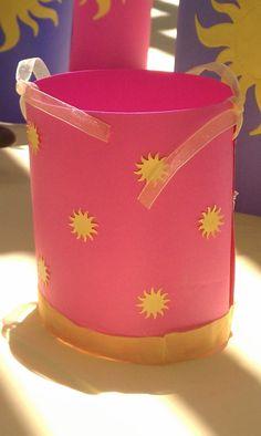 Tangled Rapunzel inspired Lantern, #Rapunzel #Tangled #DisneyPrincess #Party