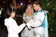 ARCADIA, CA - DECEMBER 14: Actress Emma Degerstedt and actor Garrett Clayton attend a meet & greet at the Westfield Santa Anita Free Winter Wonderland Party at Westfield Santa Anita on December 14, 2014 in Arcadia, California. (Photo by Imeh Akpanudosen/Getty Images for Westfield) — at Westfield Santa Anita.