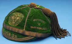 Johnny Carey's  International Cap, 1939