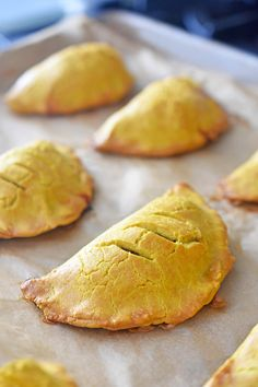 Paleo Curried Meat Pies