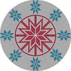 Croche e Pontos: Motivos estilo Mandala para Bolsas