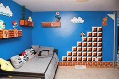 Decoracion Hogar para niños que le gustan los videojuegos,