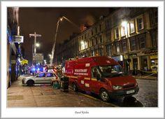 Hilfsfahrzeug der Heilsarmee in Schottland bei einem Löscheinsatz.  Copyright by http://www.flickr.com/people/flatfoot471/