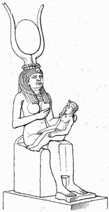 Egypt.IsisHorus.01 - Moedergodin - Wikipedia