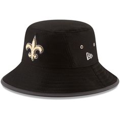 New Orleans Saints New Era Youth 2017 Training Camp Official Bucket Hat - Black - $29.99