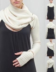 Шраг с рукавами / Помощь зала / Модный сайт о стильной переделке одежды и интерьера
