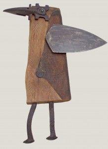 Pina Macku - Sculptures from recycled materials