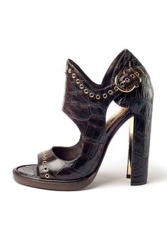 Shop designer clothes, shoes, bags & accessories for Men & Women from all over the world. High Sandals, Thick Heels, Kinds Of Shoes, Hot Shoes, Vintage Shoes, Beautiful Shoes, Shoe Collection, Salvatore Ferragamo, Me Too Shoes