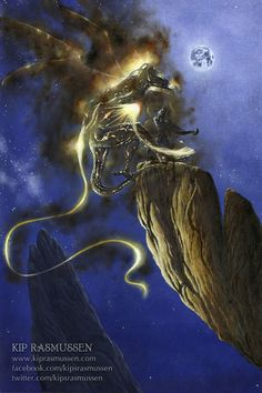 Glorfindel Duels a Balrog of Morgoth