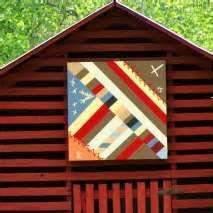 Historic Carson House barn quilt.