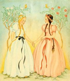 Snow White and Rose Red - Two girls who dared to help and love a bear with the heart of a prince.