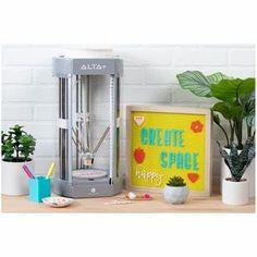 Silhouette Alta Plus 3D Printer & 7 Filaments Bundle 3D Printer Bundle Silhouette Desktop 3d Printer, Best 3d Printer, Printer Types, Custom Cookie Cutters, Custom Cookies, Silhouette Design, Silhouette Cameo, 3d Design, Your Design