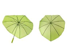 Quoth the @rabi: leaf. umbrella. Quoth the @ursamajor: This. Such a cheerful color (I really am stuck on #applegreen these days).
