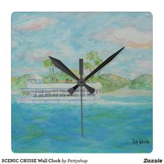 SCENIC CRUISE Wall Clock