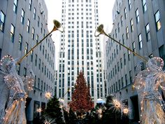 NYC becomes magical during the holiday season!