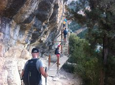 A spectacular route between Huesca and Lleida, the route of Monfalcó walkways and Montrebei gorge, although not suitable for people who are scared of heights and prone to vertigo.