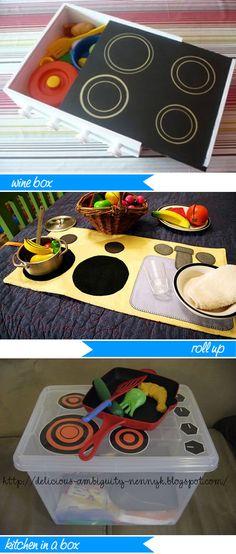 Handmade baby kitchen #DIY