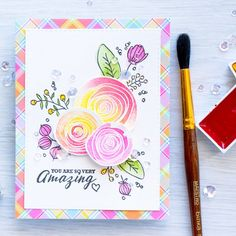 Simon Says Clear Stamps SKETCH RANUNCULUS SSS101626 My Favorite Preview Image