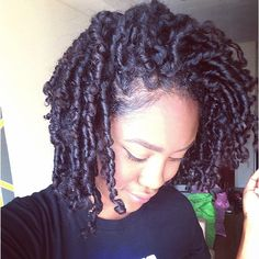 """""""The results of my finger coils! Check my last few posts to see how I achieved this. """" Photo taken by @curly_casey on Instagram, pinned via the InstaPin iOS App! http://www.instapinapp.com (09/14/2014)"""
