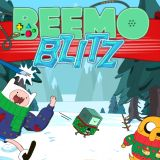 Beemo Blitz Games : Fihn and Jake put Ice King\s secret tapes inside of Beemo! The king wants them back and will do whatever it takes to get the Beemo! Run away from Ice King. Switch the heroes who carry Beemo if there is a need! Ice King, Action, Take That, Games, Group Action, Gaming, Plays, Game, Toys
