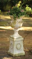 Antique Reproduction Fiberglass Urns, Planters and Pedestals | Charleston Gardens® - Home and Garden Collection Classic outdoor and garden furnishings, urns & planters and garden-related gifts