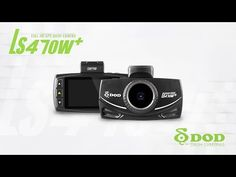 DOD Tech - Full HD Dash Camera with GPS Logging and CPL Filter LS470W+ - New!
