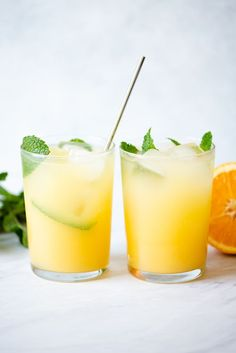 simple five-ingredient Orange and Coconut Water Refresher is the perfect beverage for any occasion! simple five-ingredient Orange and Coconut Water Refresher is the perfect beverage for any occasion! Refreshing Drinks, Summer Drinks, Detox Drinks, Healthy Drinks, Healthy Food, Nutrition Drinks, Juice Drinks, Healthy Smoothies, Healthy Recipes